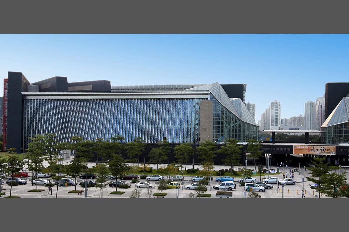 深圳图书馆新馆外景(陈彦_摄)2